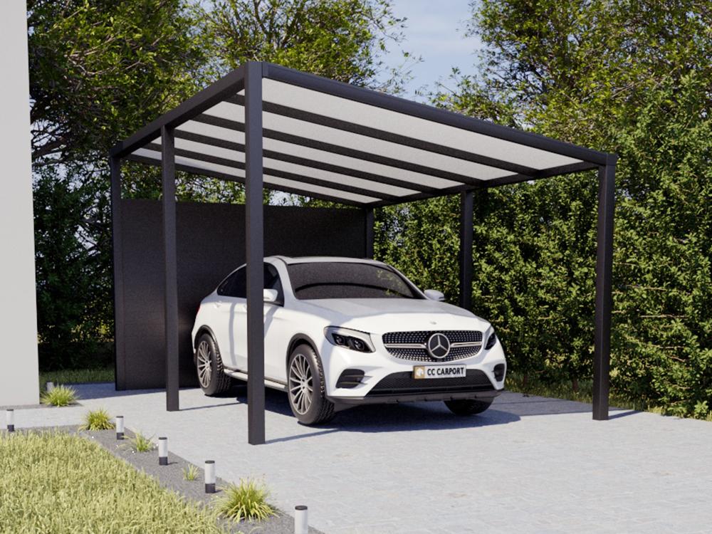 Fabulous Alu Carport Konfigurator - Aluminium Carport Anbau & freistehend DG06