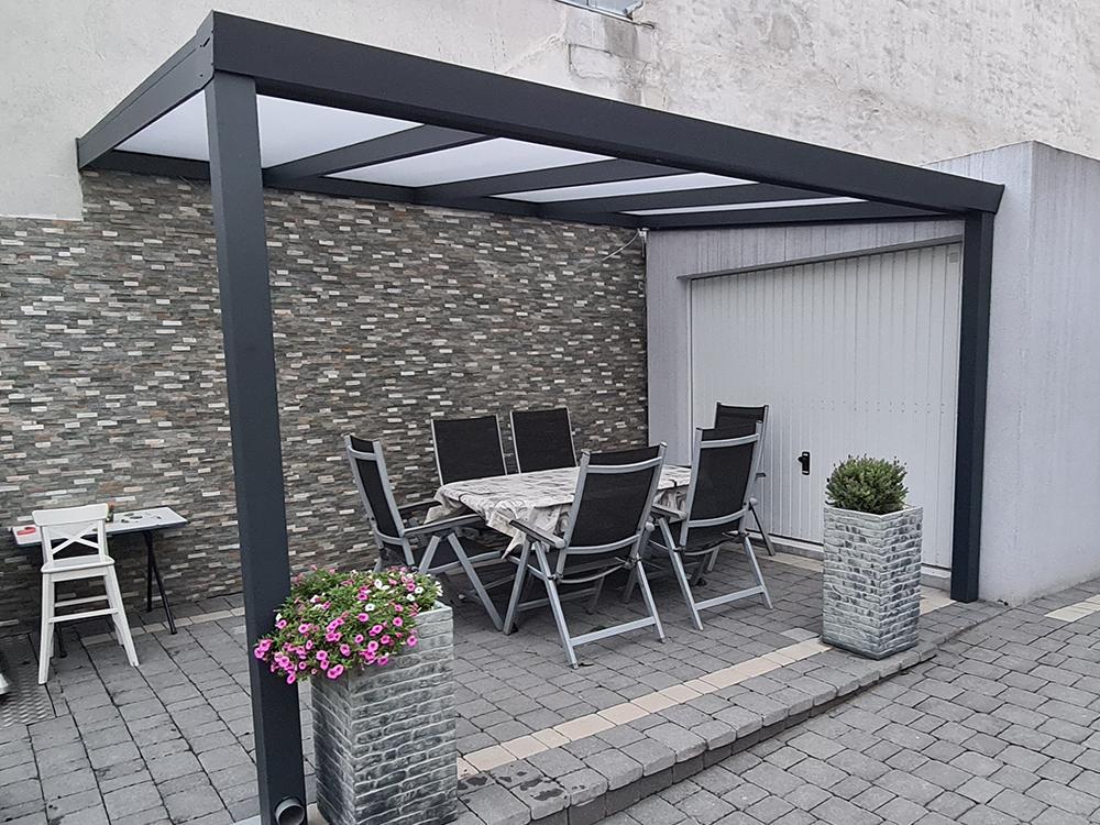 Terrassendach Aluminium