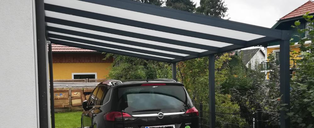 Carport Grenzbebauung