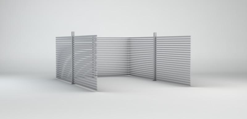 Carport Seitenwand