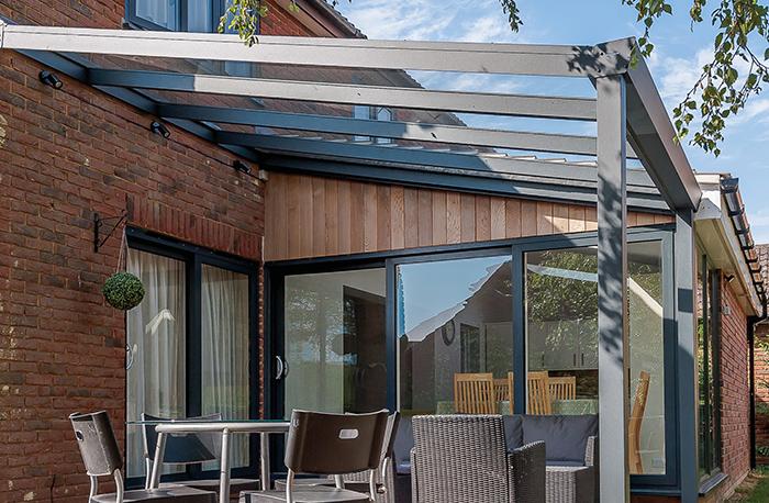 Terrassenüberdachung Anbau