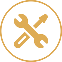 Terrassenüberdachung Montagezubehör icon