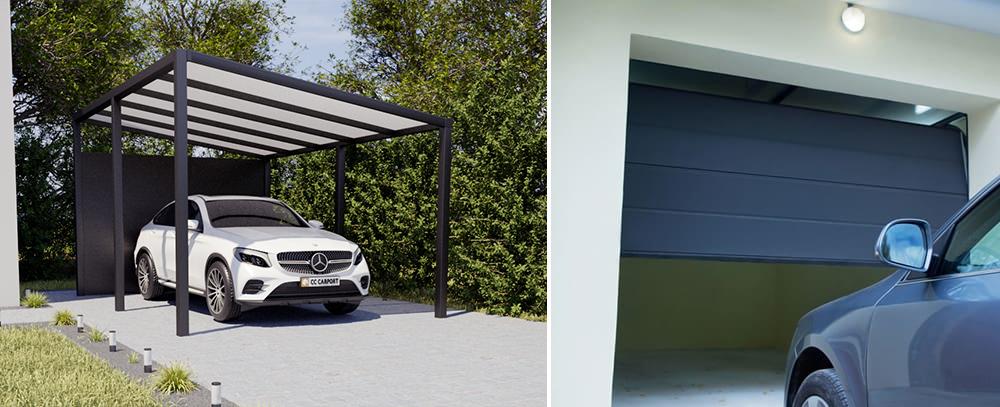 Carport oder Garage