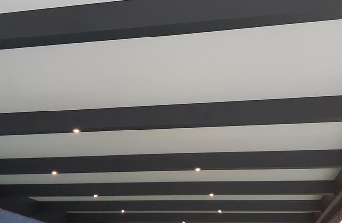 Terrassenüberdachung Flachdach Dacheindeckung