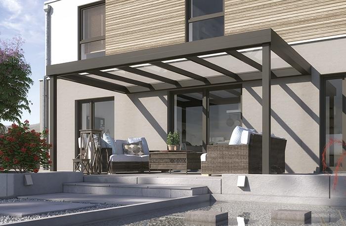 Terrassenüberdachung Konfigurator Flachdach
